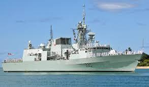 Пожар на борту канадского фрегата «Галифакс»