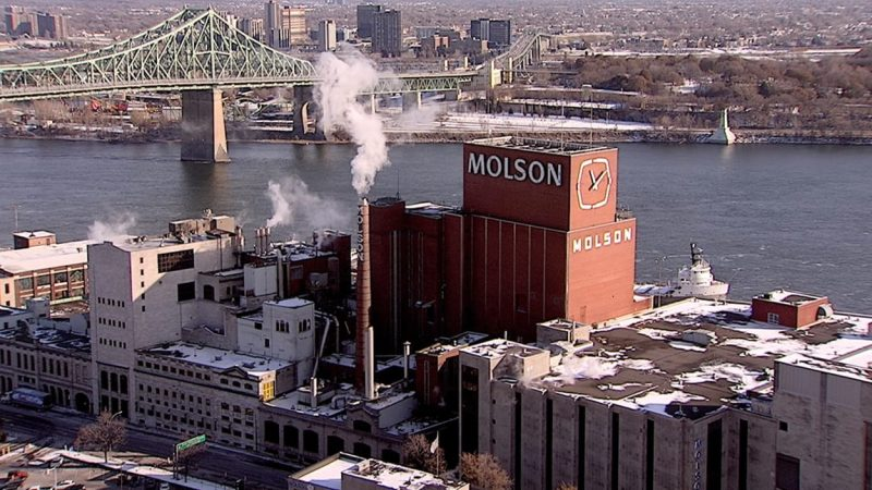 Пивоваренный завод Molson переезжает из Монреаля в Лонгёй