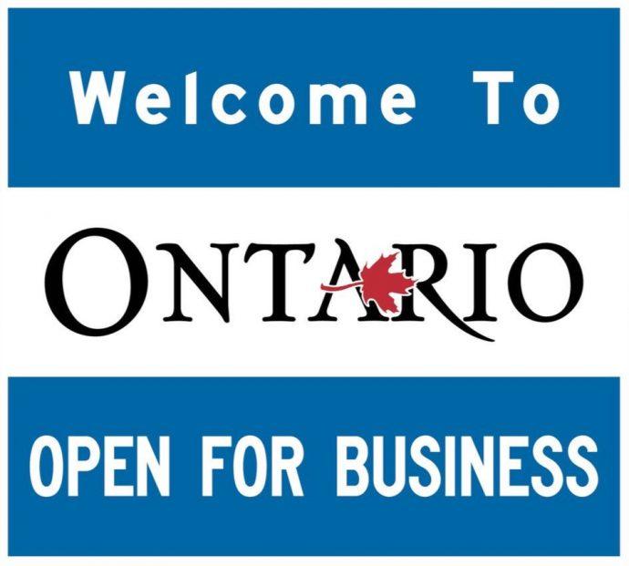 Премьер Даг Форд: «Онтарио открыто для бизнеса»!