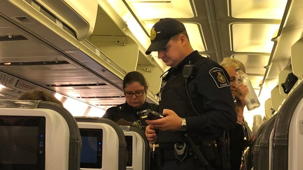 Исландский «боинг» совершил аварийную посадку в Канаде