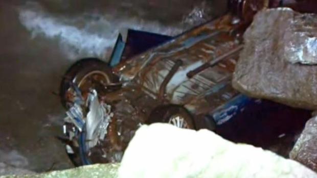 Водитель упавшей в озеро Онтарио машины был нетрезв