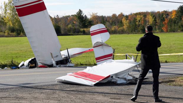 В авиакатастрофе над Оттавой один человек погиб
