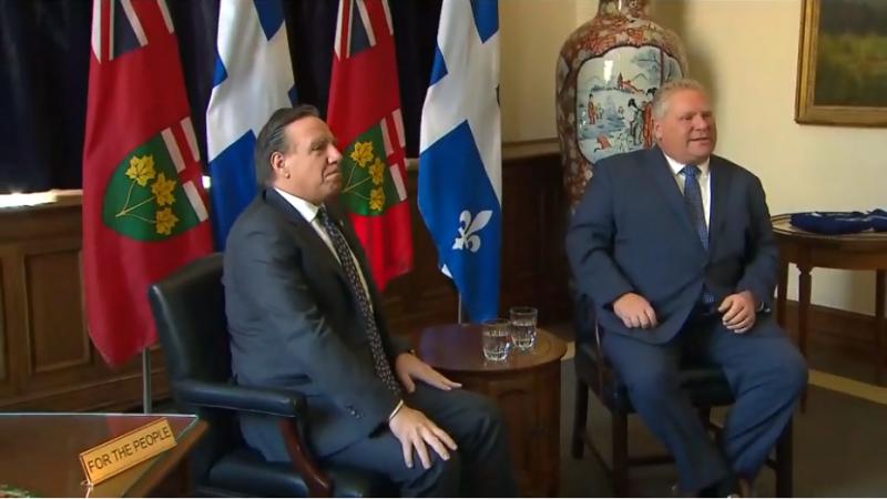 Премьер Квебека просит премьера Онтарио подумать о французском