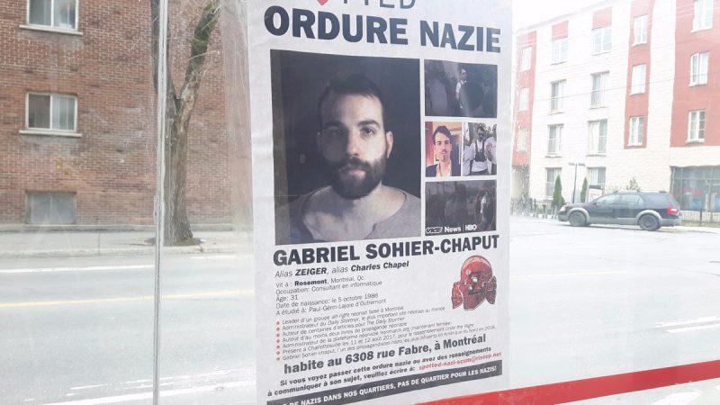 Полиция Монреаля разыскивает неонациста