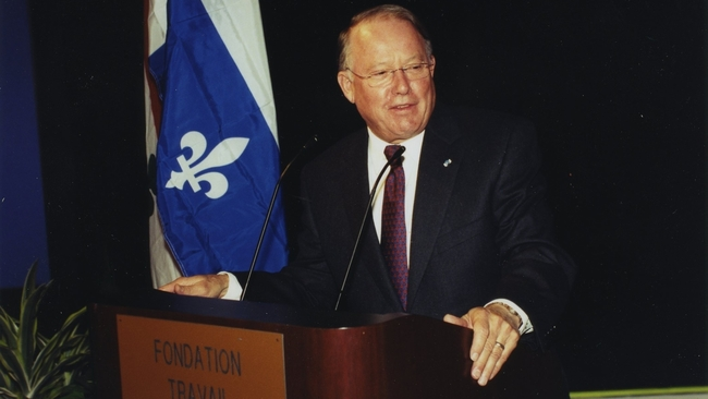 Скончался бывший премьер Квебека Бернар Ландри
