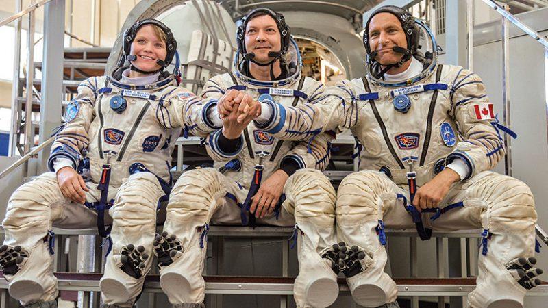 «Союз» с канадцем на борту отправится на орбиту раньше намеченного срока