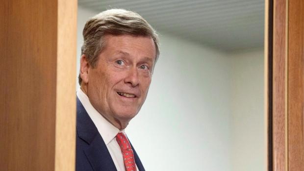 Перестановки в офисе мэра Торонто накануне второго срока Джона Тори
