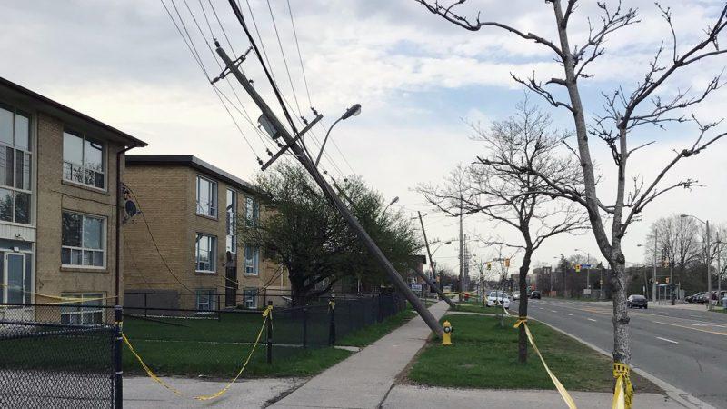 Сильный ветер разыграется сегодня в Большом Торонто