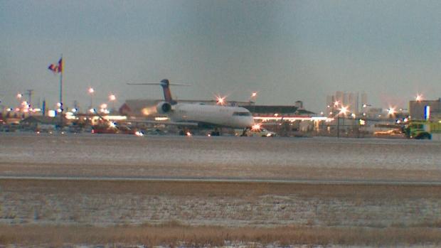 В Саскатуне с полосы перед взлетом сошел самолет Delta Airlines