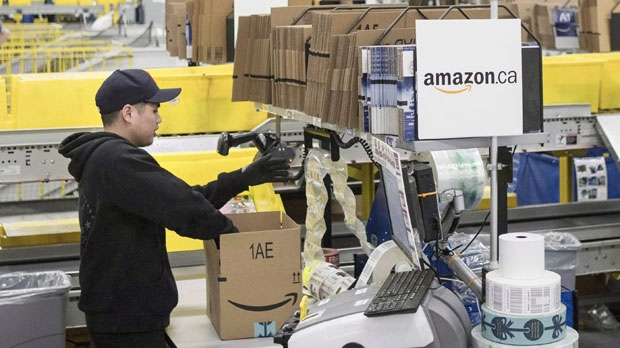 Amazon открывает в Канаде новый сортировочный центр