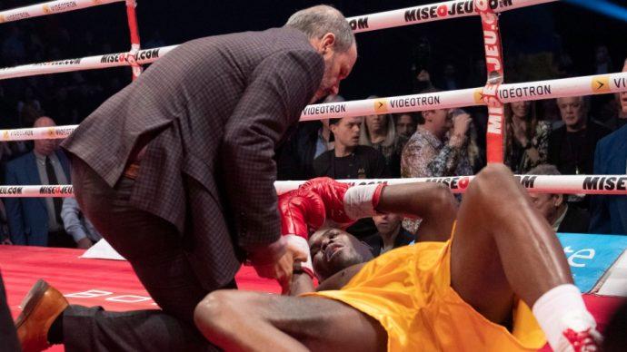 Стивенсон был в искусственной коме после боя с Гвоздиком