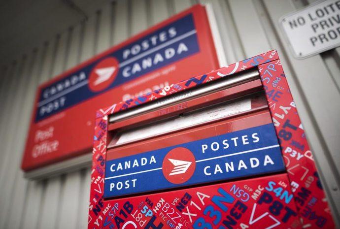 Почта в Канаде дорожает с середины января