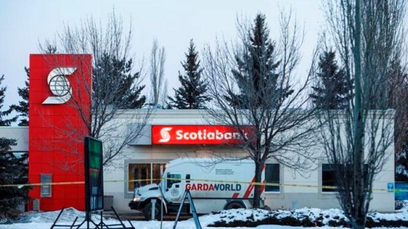 Инкассаторы в Эдмонтоне стали жертвами взрыва при ограблении