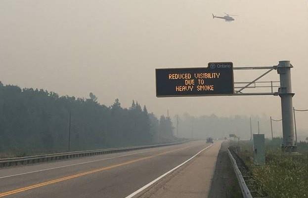 Причиной лесных пожаров могли быть возгорания на ветряных электростанциях