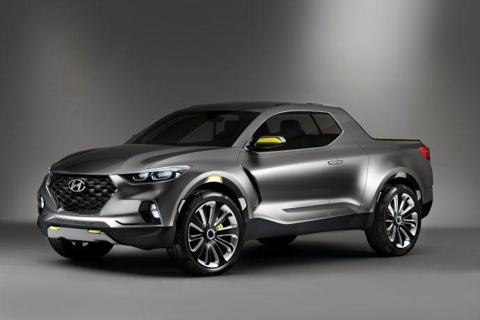 Новый пикап Hyundai выйдет в 2020 году