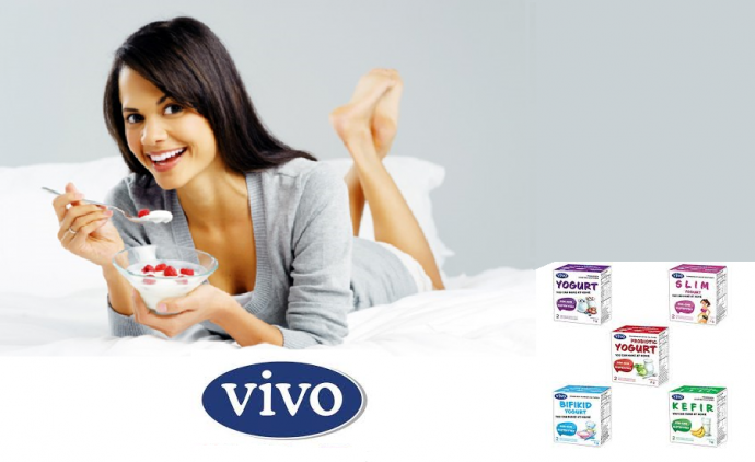 Закваски VIVO: готовить домашний йoгурт и кефир легко!