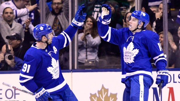 Toronto Maple Leafs выиграли, Raptors— проиграли