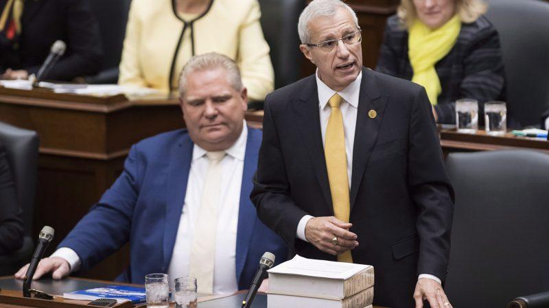 Агентство Moody's понизило оценку кредитного рейтинга Онтарио