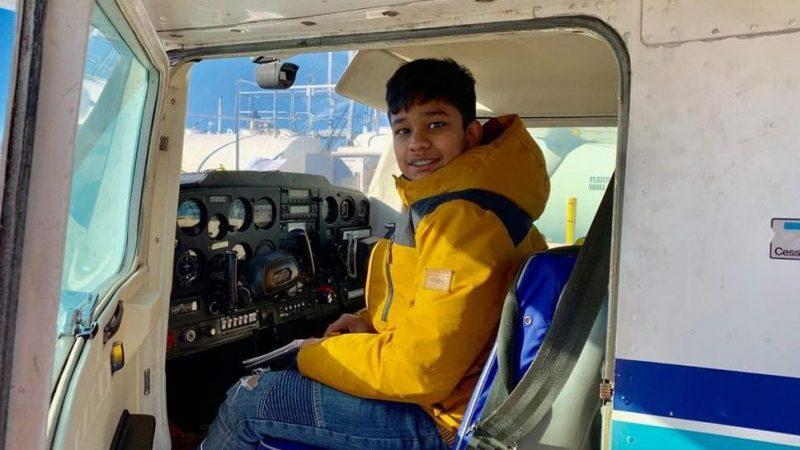 Самый юный пилот мира живет в Канаде