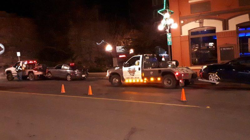 Пьяный водитель дал полицейскому котлету вместо прав