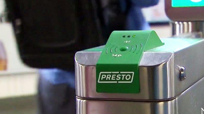 Проездные Metropass в Торонто сменяет с 1 января Presto Card