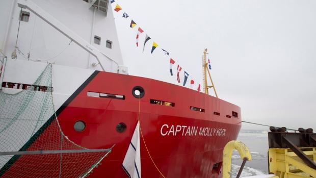 Канадское судно названо именем первой женщины-шкипера в Северной Америке