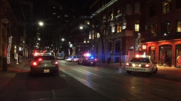 Убийство в центре Торонто