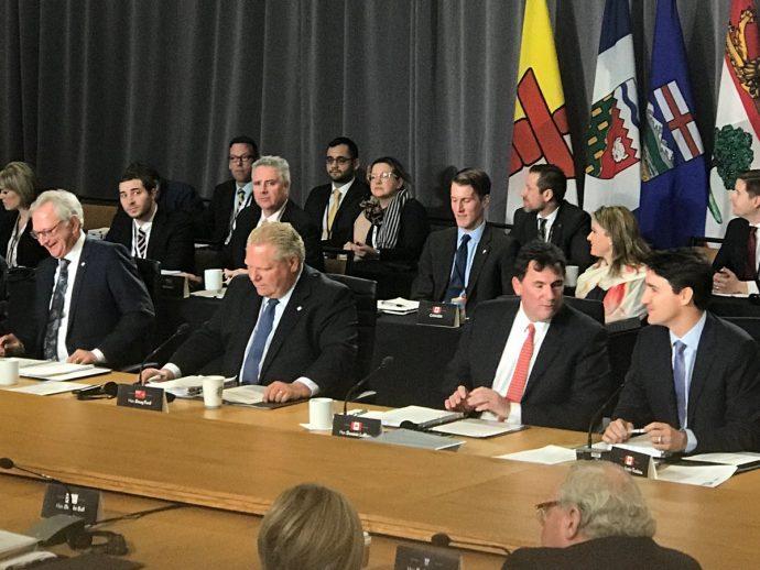 Саммит канадских премьеров: коммюнике подписали все