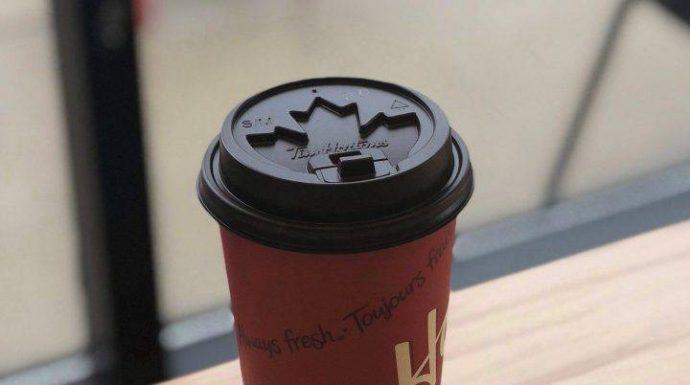 Tim Hortons испытывает новые крышечки для кофе