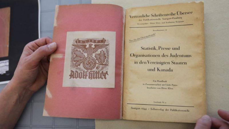 Государственный архив приобрел гитлеровский список евреев США и Канады