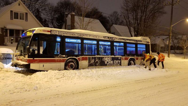Снегопад в Торонто оказался рекордным