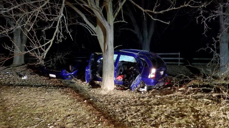 В аварии в Воне пострадали пять подростков