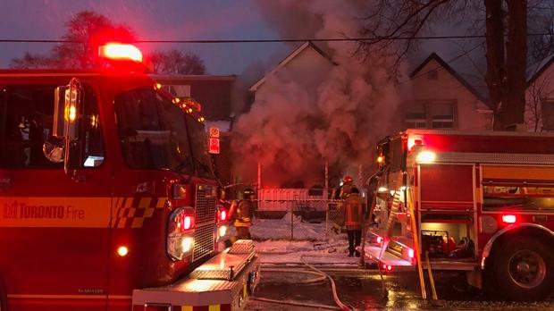 Семья из 14 человек потеряла на пожаре все имущество