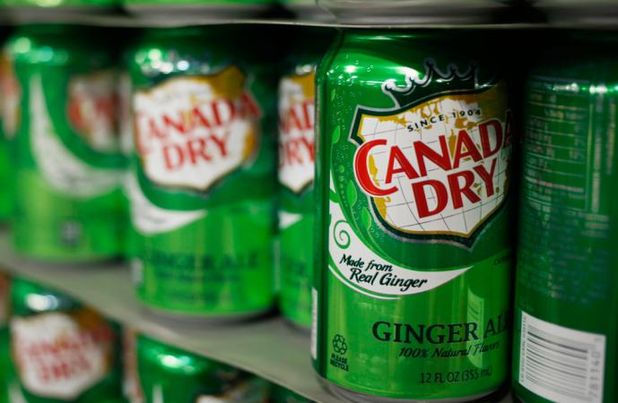 В США канадский лимонад будет без надписи «из настоящего имбиря»