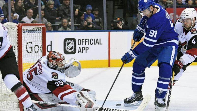 Toronto Maple Leafs после Рождества выступают слабее