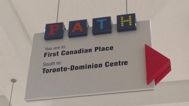 Новые тоннели подземной пешеходной системы в Торонто