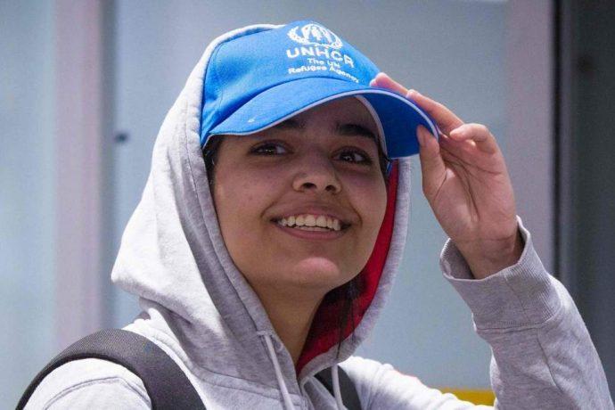 Получившая статус беженца саудовская девушка прибыла в Канаду