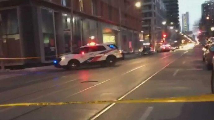 Выстрелы в Торонто: один человек тяжело ранен