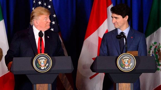 Трамп и Трюдо обсудили по телефону арест двух канадцев в Китае