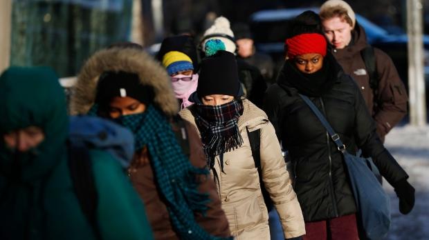 Осторожно, в Торонто мороз