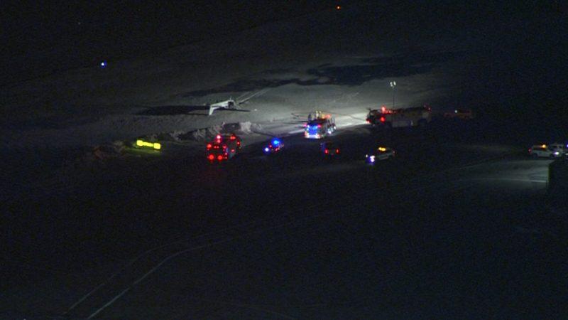 Авария в аэропорту имени Билли Бишопа в Торонто