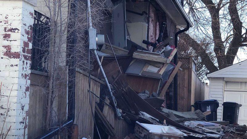 В Торонто обрушился жилой дом
