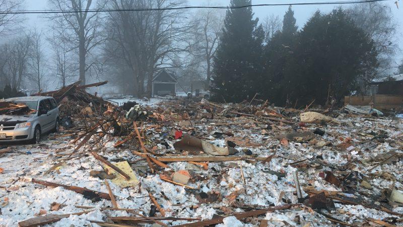 Взрыв в жилом доме в Онтарио. Один человек погиб