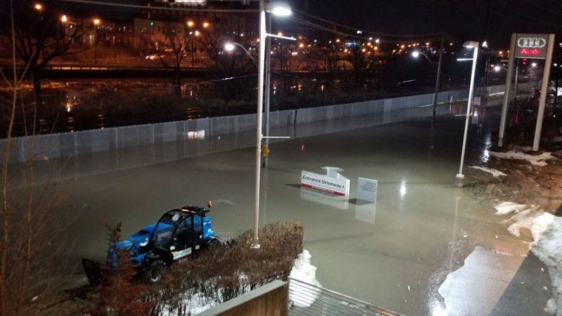 Превратности погоды: метель, оттепель, дождь, наводнение в Торонто