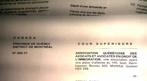 Суду не понравилось решение правительства Квебека по иммигрантам