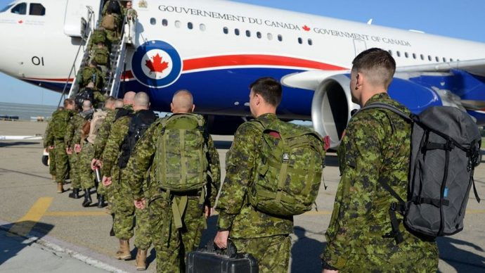 Украина просит Канаду продлить миссию военных инструкторов