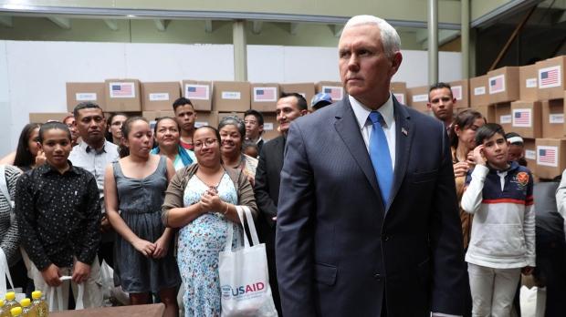 Вице-президент США: Канада должна помогать венесуэльской оппозиции