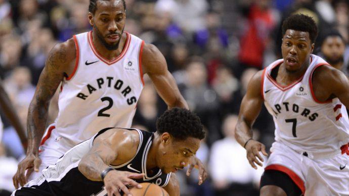Toronto Raptors: ДеРозану не позволили выиграть с «Сан-Антонио»