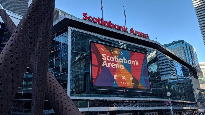 Центральная спортивная арена Торонто справляет 20-летие