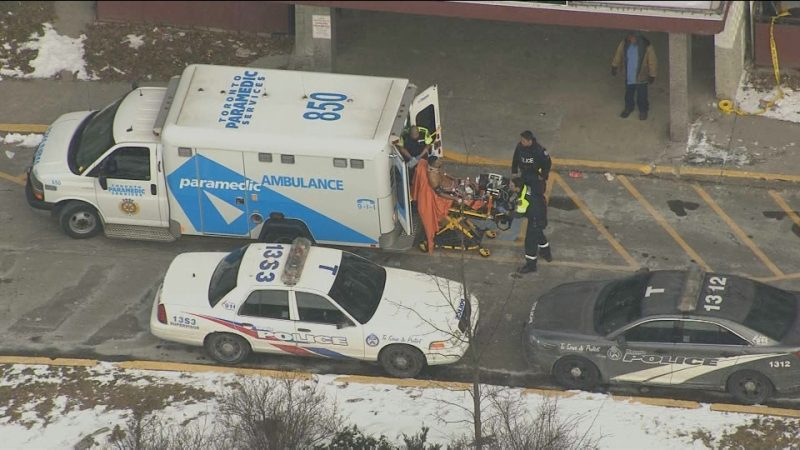 Стрельба на западе Торонто. Двое тяжело ранены